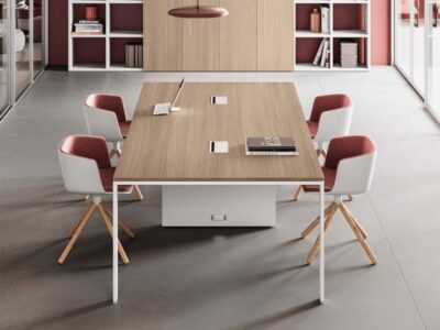 Avery – U-Leg Meeting Table - Furniture