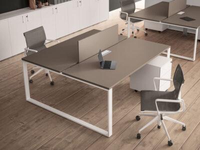 Atlanta Ring Leg Operational Office Desk..