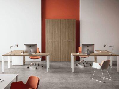 Evelyn – U-Leg Operational Office Desk -