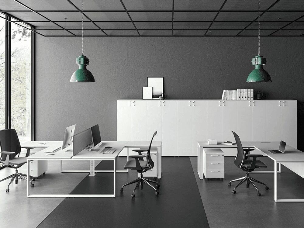 Atlanta Ring Leg Operational Office Desk