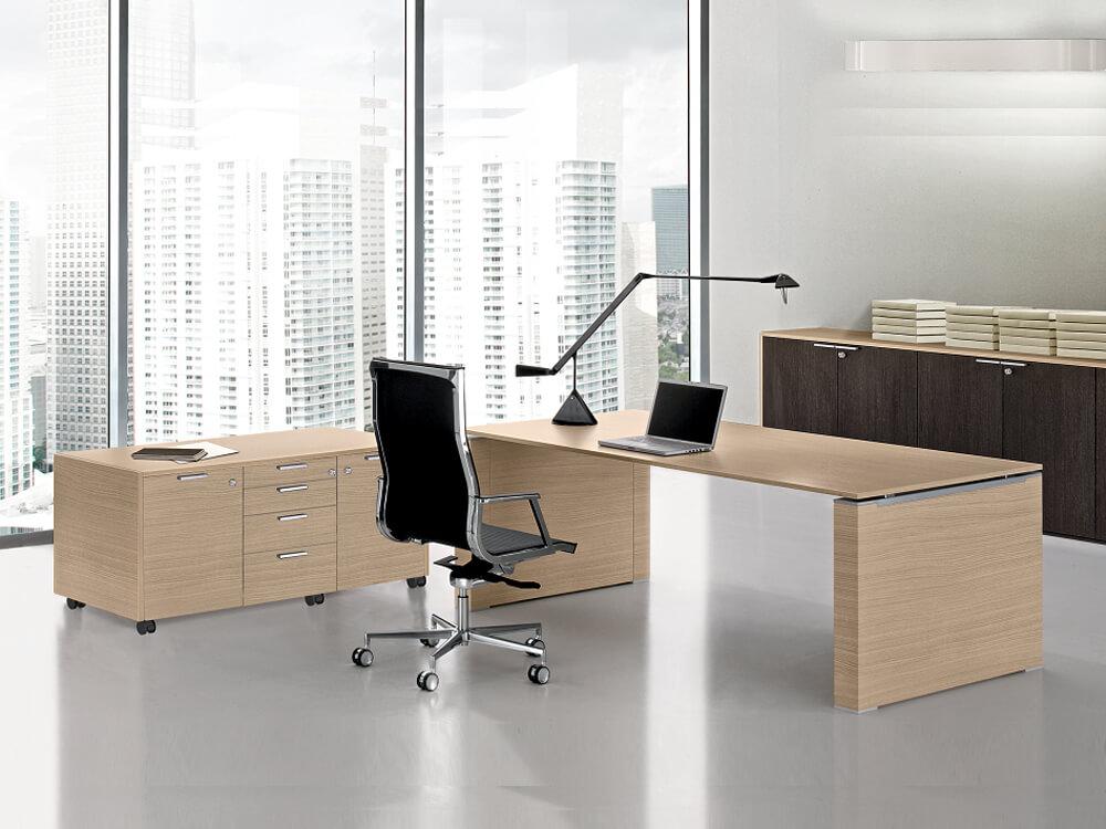 Kingsley – Panel End Executive Desk