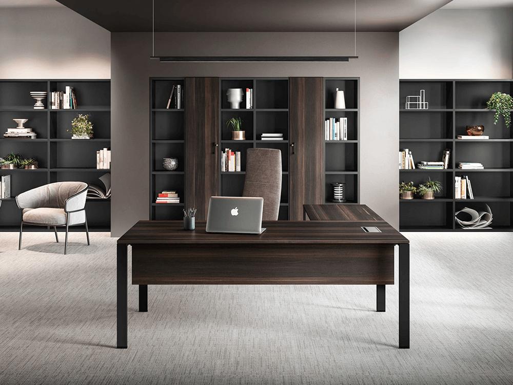 Om U Leg Wooden Executive Desk 2