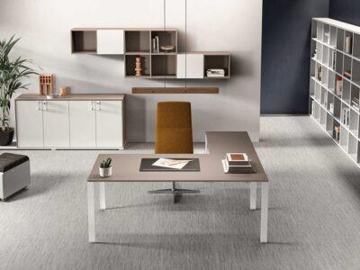 Alexia – U-Leg Wooden Executive Desk -