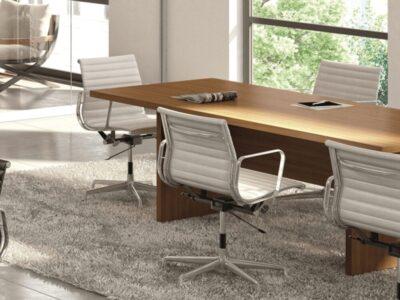 Piccadilly – Slab Leg Boardroom Table