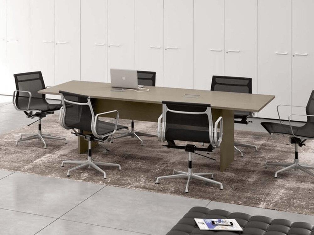 Piccadilly – Slab Leg Boardroom Table - Desk