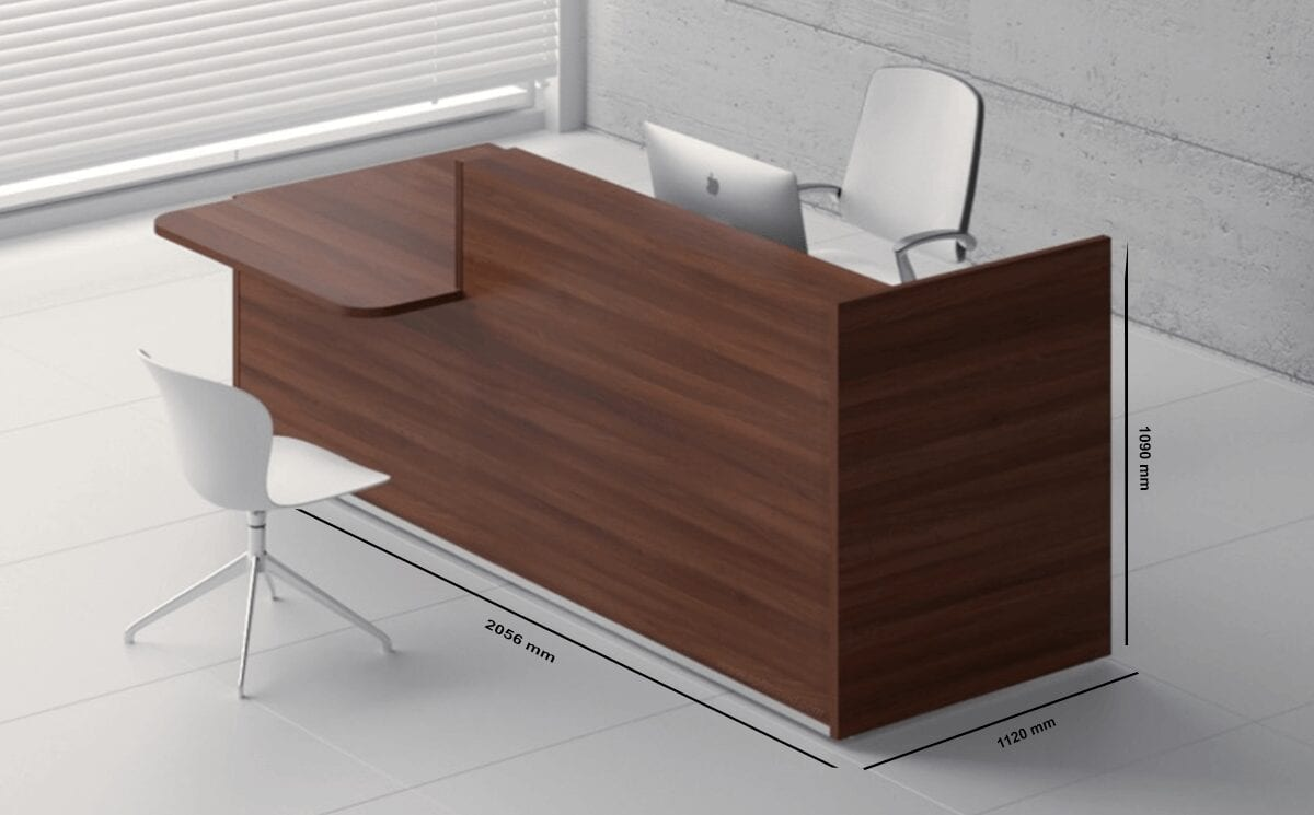 Andreas 2– Reception Desk with DDA Approved Wheelchair Access