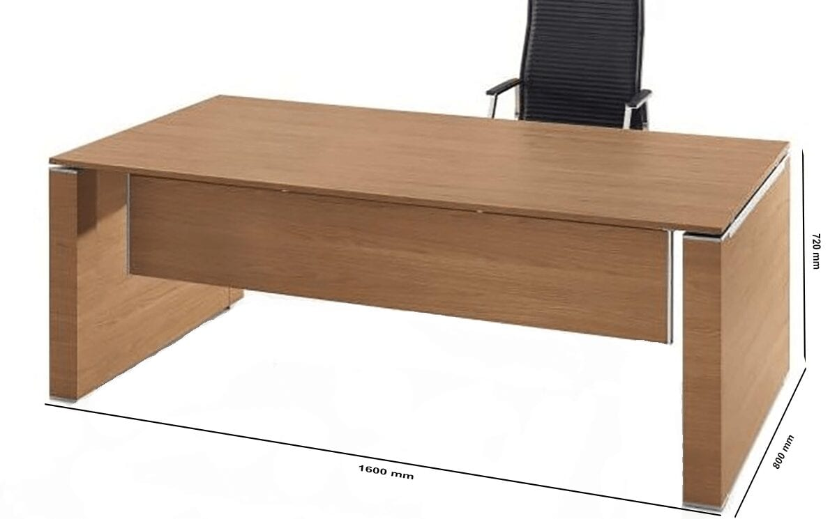 Kingsley – Panel End Executive Desk with Modesty Panel