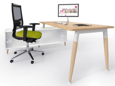 Cora – Wood Rectangle Operational Office Desk Range
