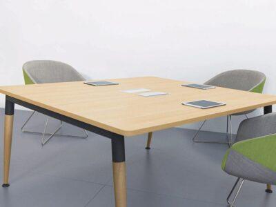 Cora – Wood Square Operational Office Desk Range