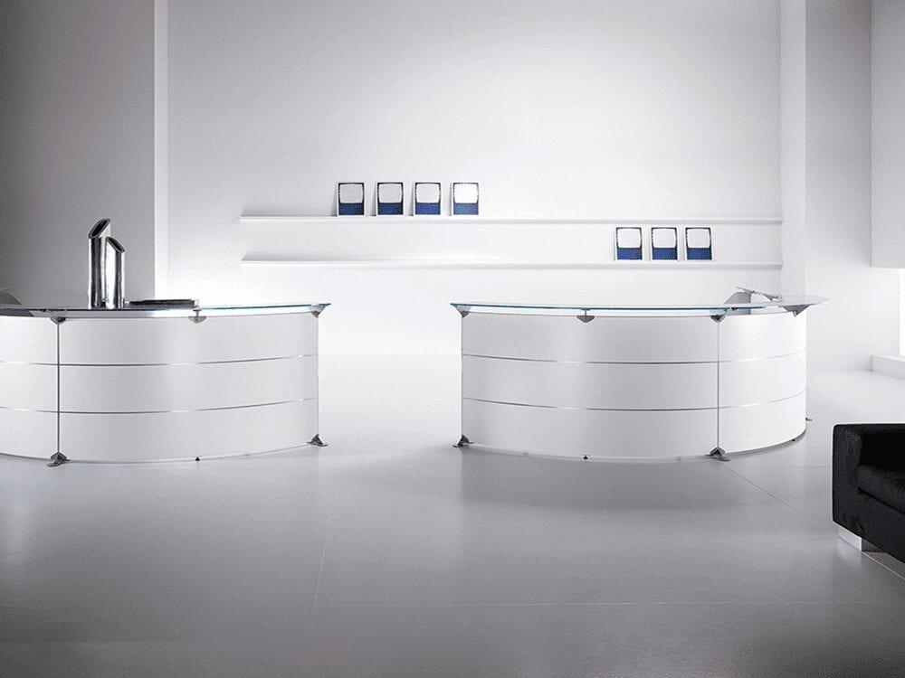 Benito 7 – 60 Degree Modular Reception Desk