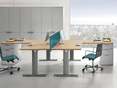 Tate – Operational Office Desk with T-Leg