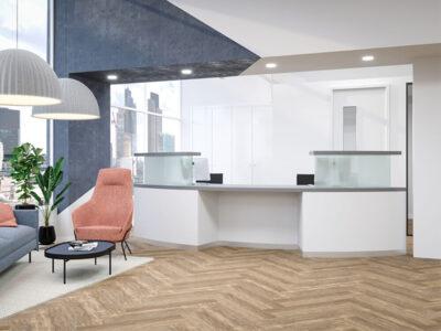 Aida 2 – Reception Desk In Westminster Oak1