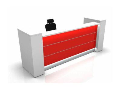Alba 4 – Modern Lacquered Reception Desk4