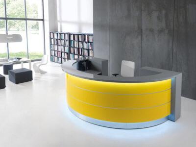 Alba 6 – Round Reception Desk1