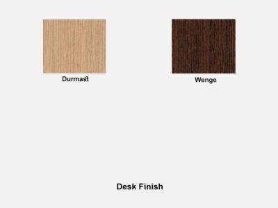 Alric Executive Desk Desk Finish