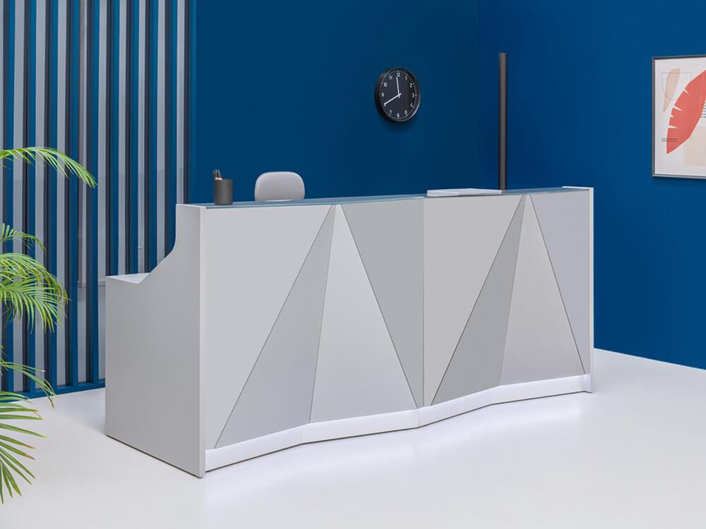Andreas 9 – Contemporary Design Reception Desk1