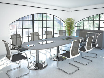 Aria – Oval Shaped Conference Table1