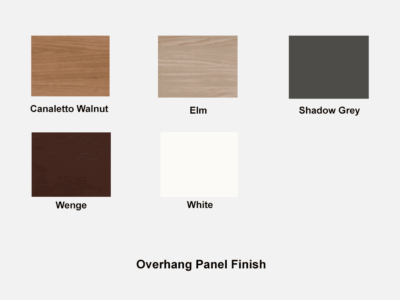 Bain 1 Over Hang Panel Finish