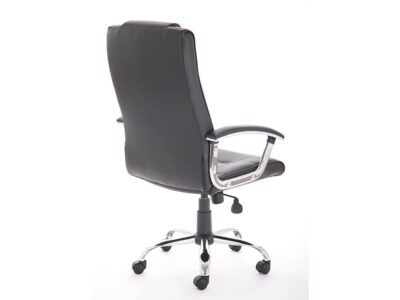 Bastian – Black Bonded Leather Executive Chair1