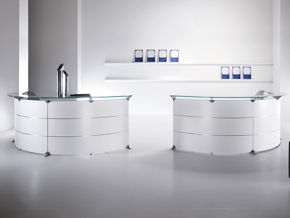 Benito 7 – 60 Degree Modular Reception Desk