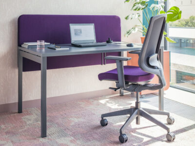 Bloom – Operational Office Desk With Cable Tidy1
