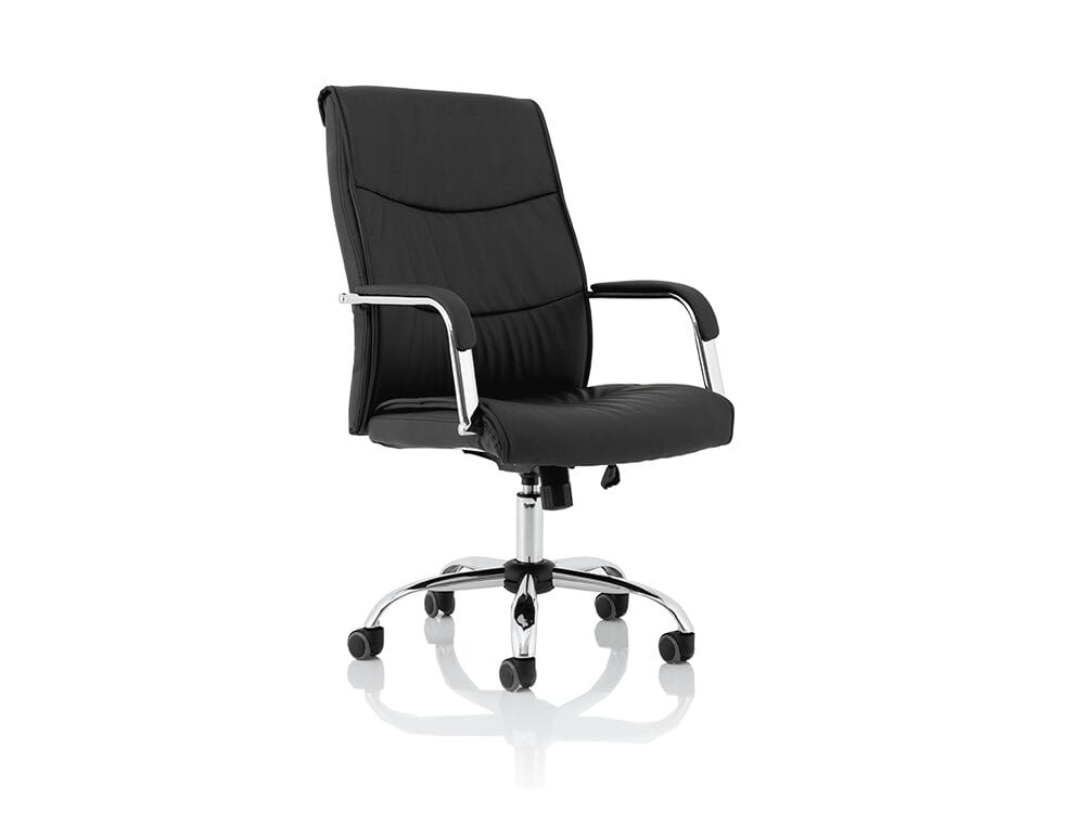 Nova – Faux Leather Task Operator Chair with Arms