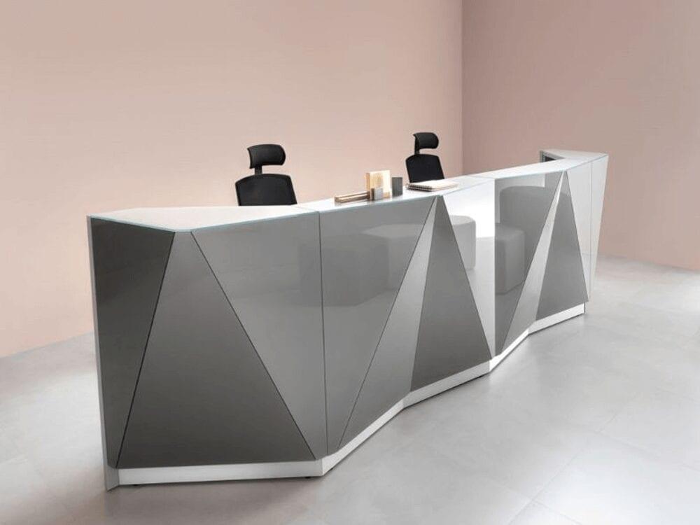 Andreas 9 – Contemporary Design Reception Desk