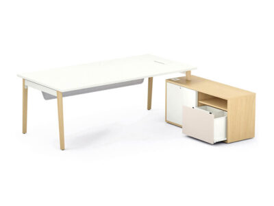Cora – Wood Rectangle Operational Office Desk Range2