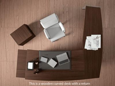 Corona Curve Wing Desk Main Image1