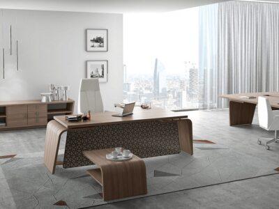 Oxford – Curved Executive Desk