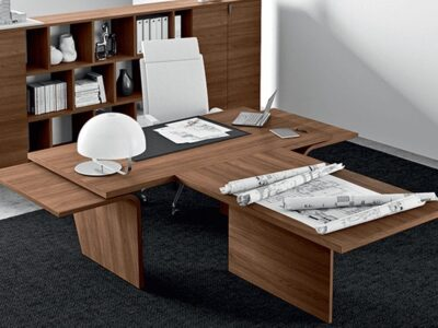 Oxford – Wooden Wing Executive Desk