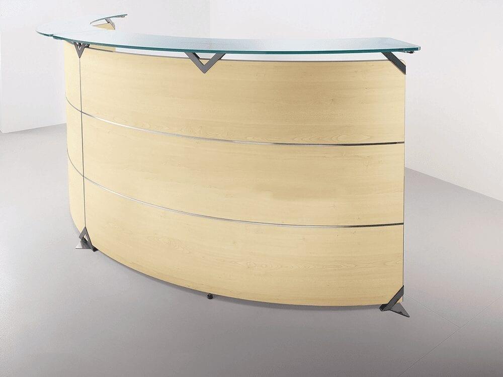 Benito 6 – Curved Reception Desk