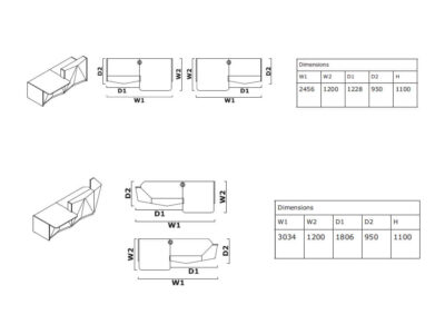 Gia 1 – Silver Reception Desk with Wheelchair Access Unit