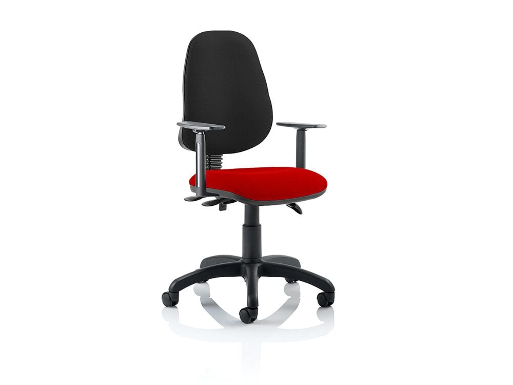 Esme 3 – High Operator Task Chair without Arms in Multicolour