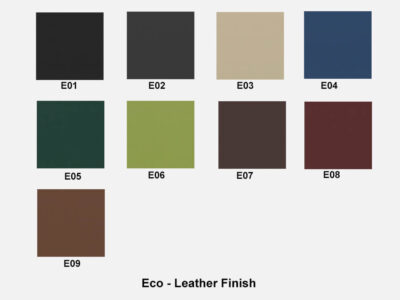 Eco Leather Finish Ryder – Executive Desk With Leather Details