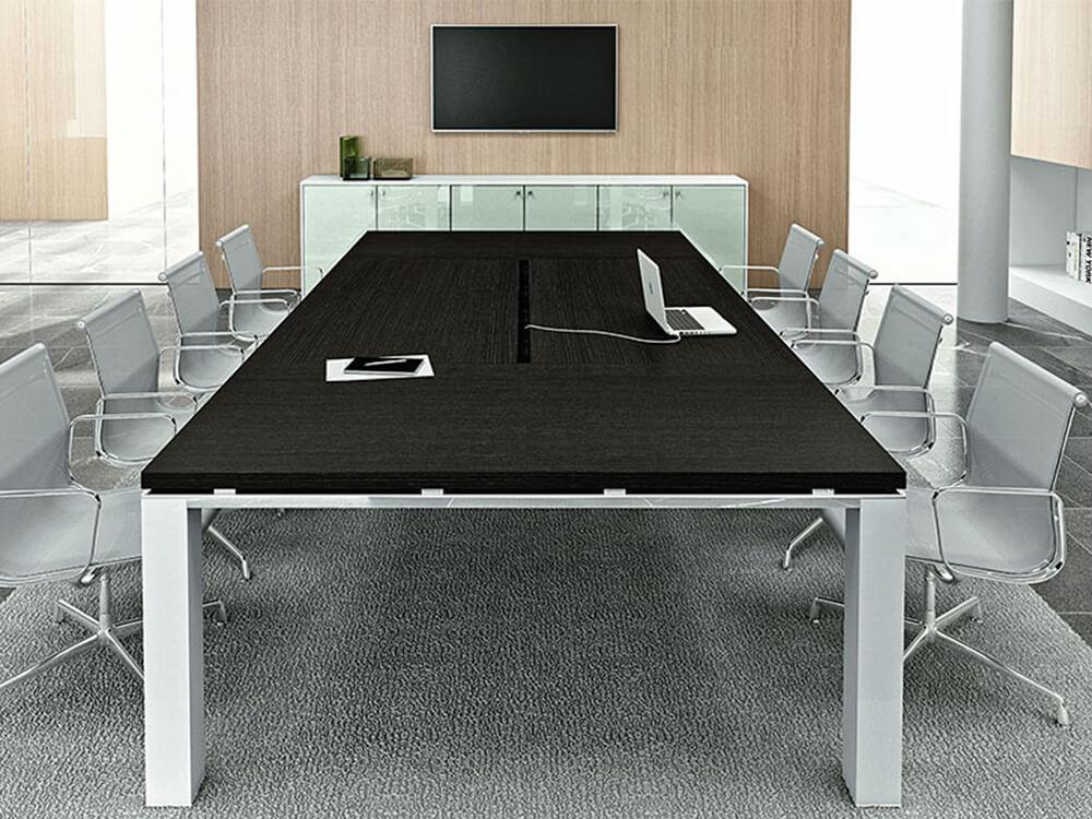 Eli – Rectangle Wooden Boardroom Table