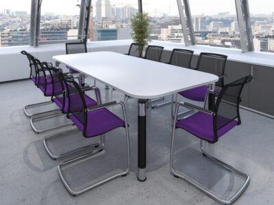 Fiore – Radius Corner Meeting Table..