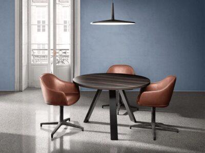 Nora – K-Leg Round Meeting Table