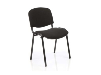 Robin – Black Frame Stacking Chair -