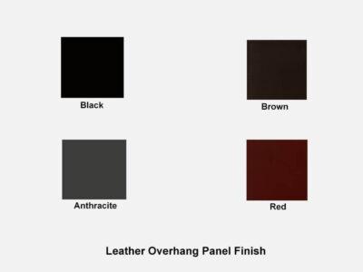 Leather Roman 1 – Straight Reception Desk In White
