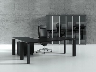 Reve – Meeting Table with Black Legs
