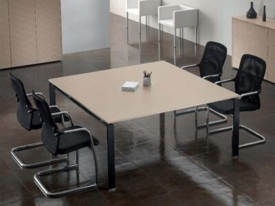 Luke – Meeting Table in Cappuccino