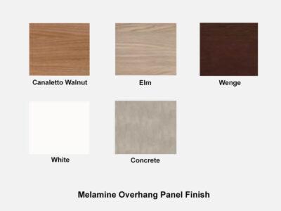 Melamine Panel Roman 1 – Straight Reception Desk In White