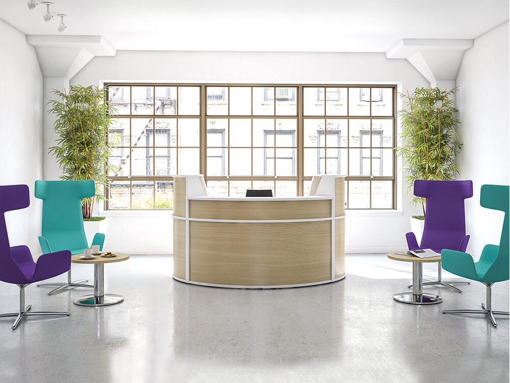 Mode – Circular Reception Desk..