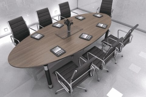 Aria – Oval Shaped Conference Table