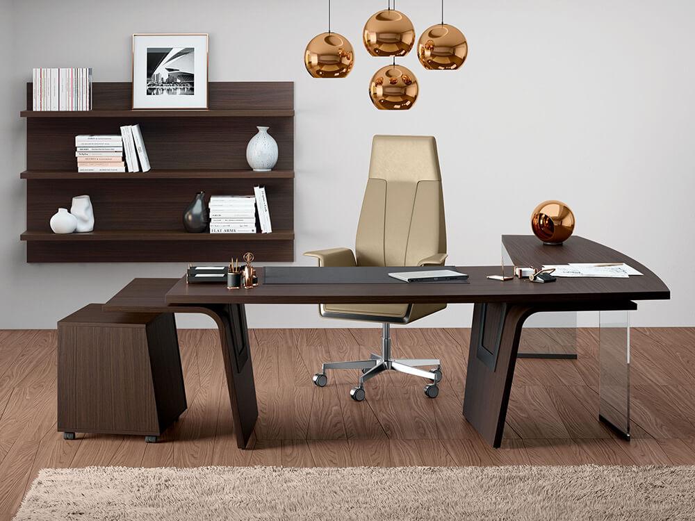 Oxford 4– Wooden L Shaped Executive Desk