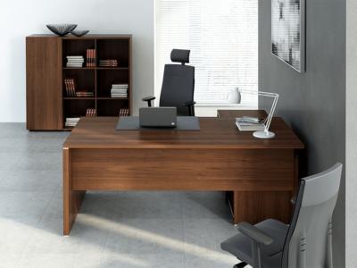 Pietro – Wood Finish Executive Desk 4