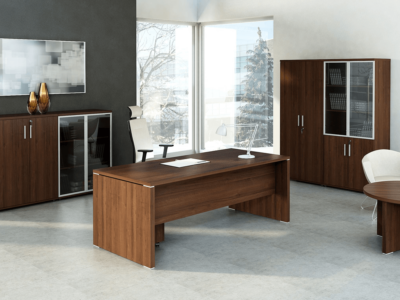 Pietro – Wood Finish Executive Desk 5