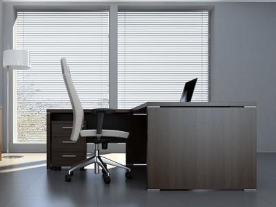 Pietro – Wood Finish Executive Desk 7