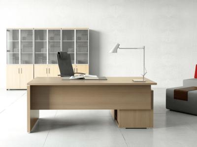 Pietro – Wood Finish Executive Desk 9